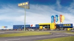 An artist's digital rendering of Halifax' first Ikea store is seen in this handout image. (THE CANADIAN PRESS/HO-Ikea)