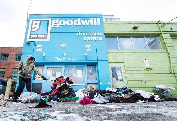 Goodwill donation centre