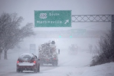 Monster snow storm in the U.S.