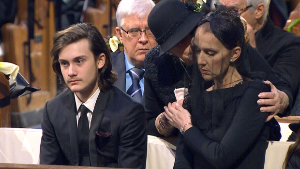 Funeral Of Rene Angelil In Montreal Ctv News