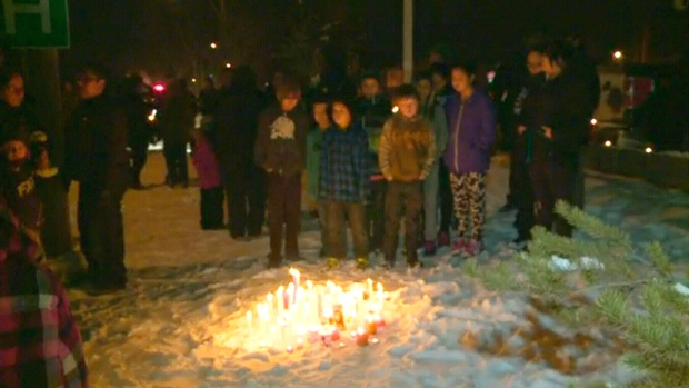 Vigil in La Loche, Saskatchewan, shooting,
