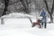 Snow storm in Kentucky