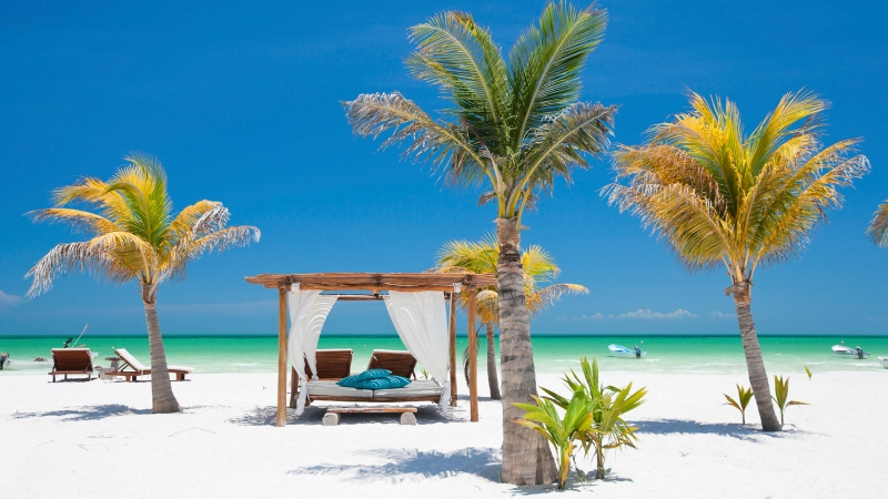 A beach in Mexico is pictured. (shalamov/Istock.com)