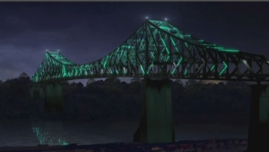 The plan to light up the Jacques-Cartier Bridge would cost $39.5 million.