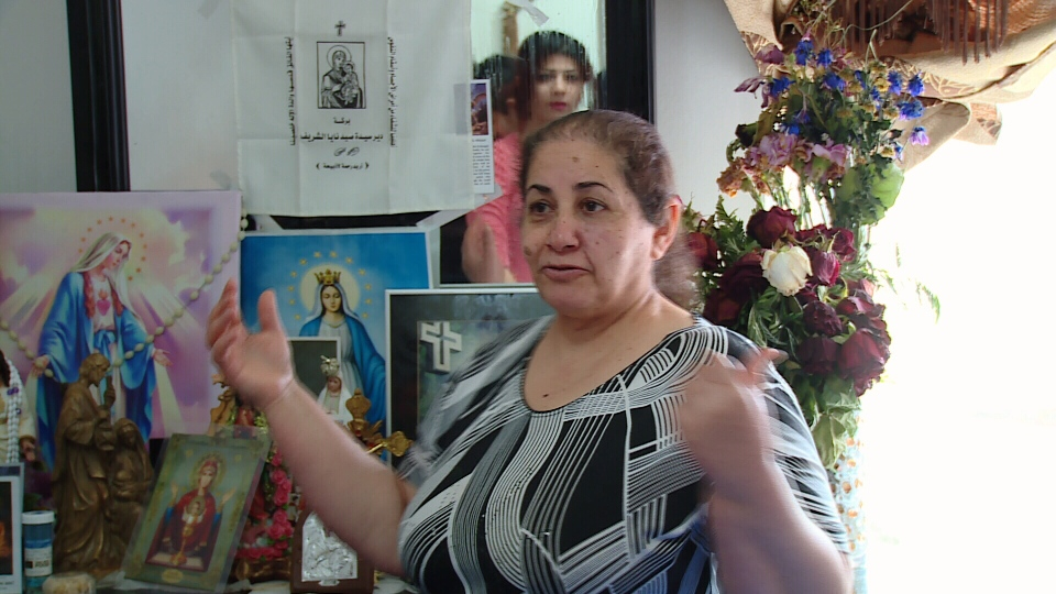 Catholic Sanna Lona was alone in her bedroom three weeks ago when she says she saw the Virgin Mary. Jan. 23, 2016. (CTV News).