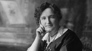 Nellie McClung is pictured. (National Archives of Canada/C.Jessop )