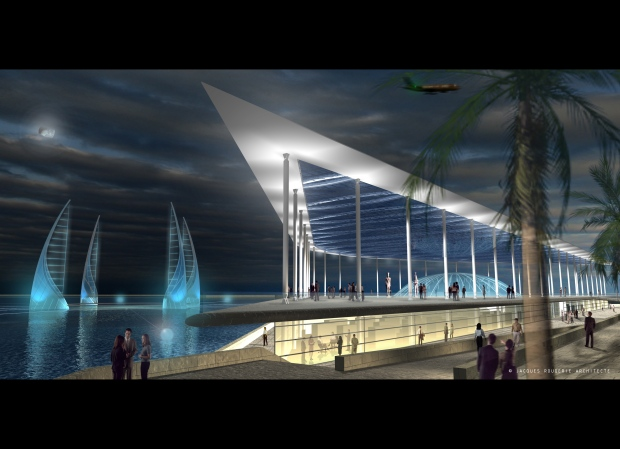 Proposed underwater museum