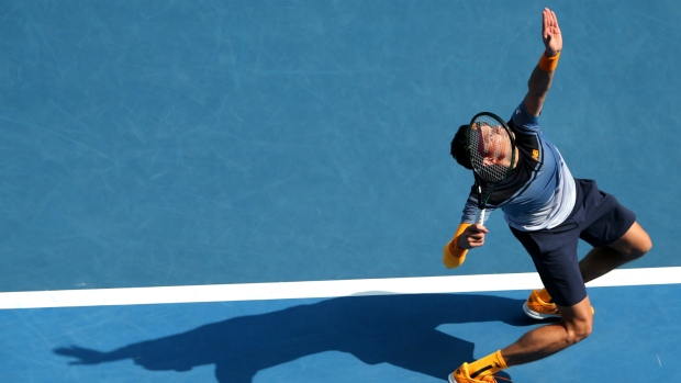 Milos Raonic beats Stan Wawrinka