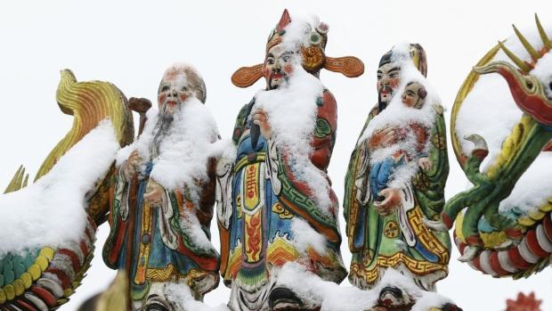 Snow in New Taipei City