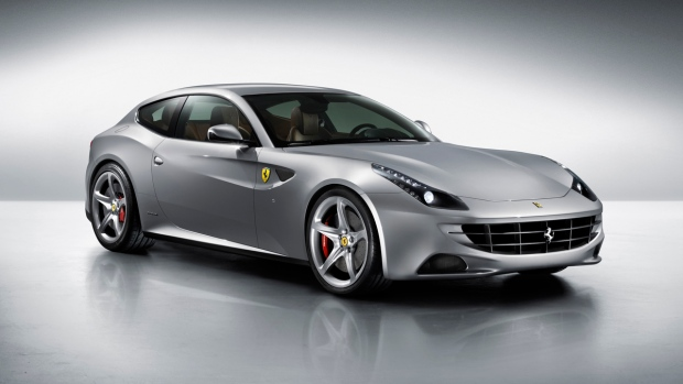 The current Ferrari FF
