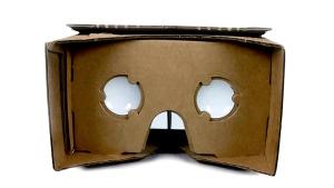 Google's basic 'Cardboard' viewer. (Google Inc.)