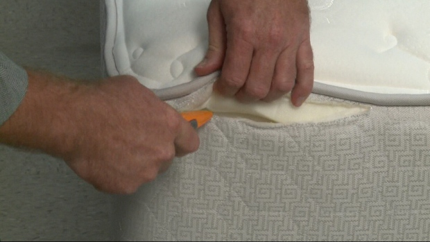 Filling in some 'healthy' mattresses may surprise you