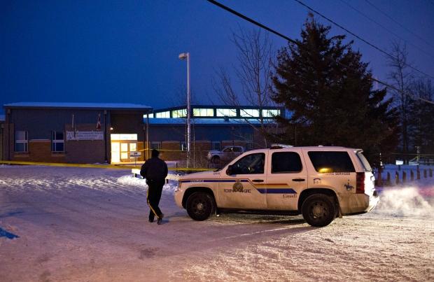 Police investigate school in La Loche