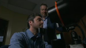 Bell Let's Talk retina test