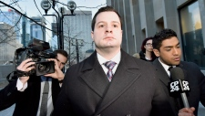 Const. James Forcillo leaves court in Toronto
