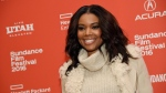 """Gabrielle Union, a cast member in """"The Birth of a Nation,"""" poses at the 2016 Sundance Film Festival, in Park City, Utah, on Monday, Jan. 25, 2016. (Chris Pizzello/Invision/AP)"""