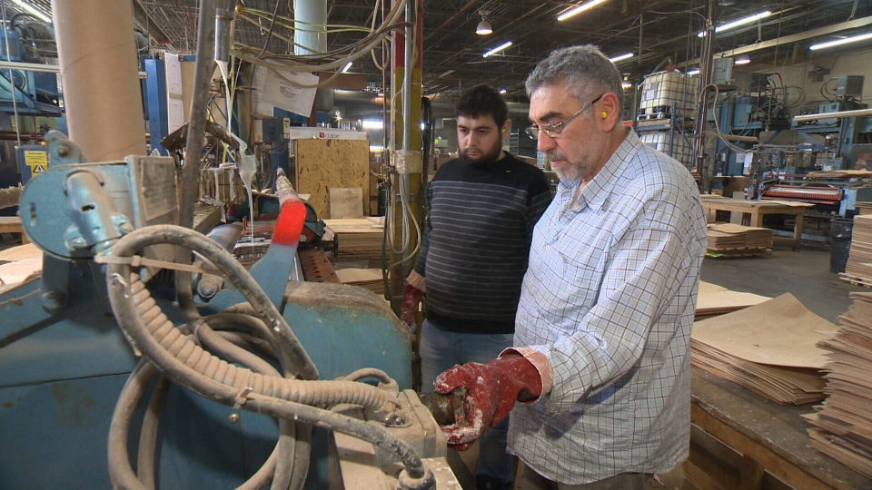 Montreal-based plywood company Seatply is offering jobs to newly arrived Syrian refugees, as well as free language lessons.