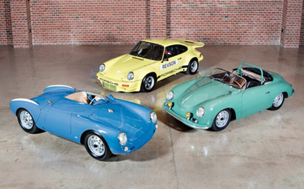 Porsches from Jerry Seinfeld's collection