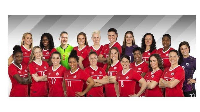As the world gears up for this summer's Rio Olympics, Canada Soccer has announced the roster of women who will be carrying Canada's qualification hopes.