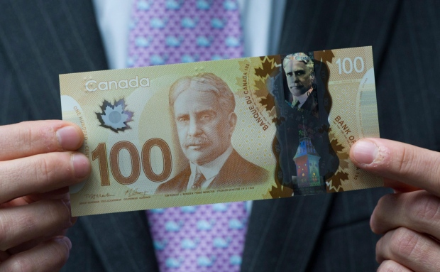 Canadian $100 bill