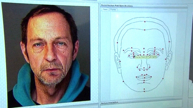 Facial recognition software is shown at work in this file photo.