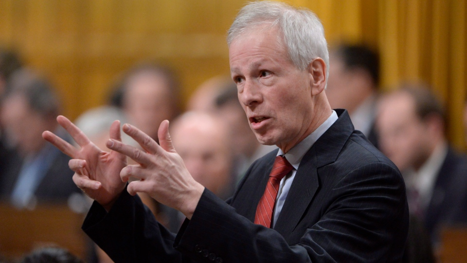 Foreign Affairs Minister Stephane Dion answers a question during Question Period in Ottawa, on Tuesday, Jan.26, 2016. (THE CANADIAN PRESS/Adrian Wyld)