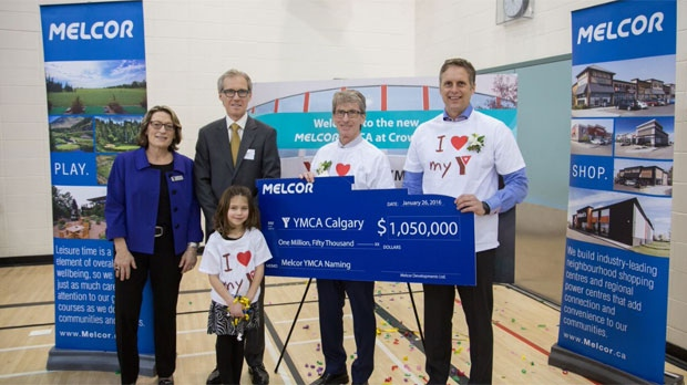 YMCA Crowfoot renamed