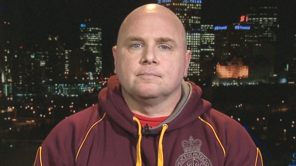Sgt. Jeffrey Yetman appears on CTV News Channel on Tuesday, Jan. 26, 2016.