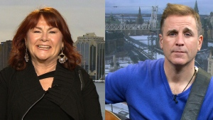 Mary Walsh and Sean McCann speak to CTV's Canada AM, Jan. 27, 2016.
