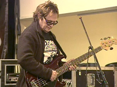 April Wine bassist Breen LeBoeuf had two prized basses stolen from his car shortly before band-mate Brian Greenway had a guitar stolen after a gig in Montreal.