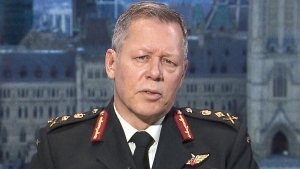 Chief of Defence Staff Gen. Jonathan Vance appears on CTV News Channel, Wednesday, Jan. 27, 2016.