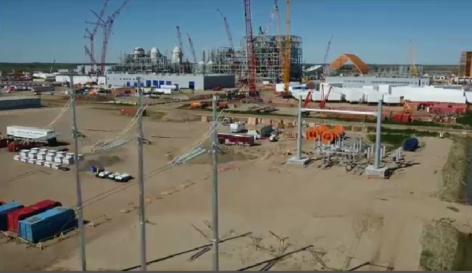 The K+S Potash Mine near Bethune, Sask. is pictured in this YouTube screengrab. (Courtesy: Youtube)