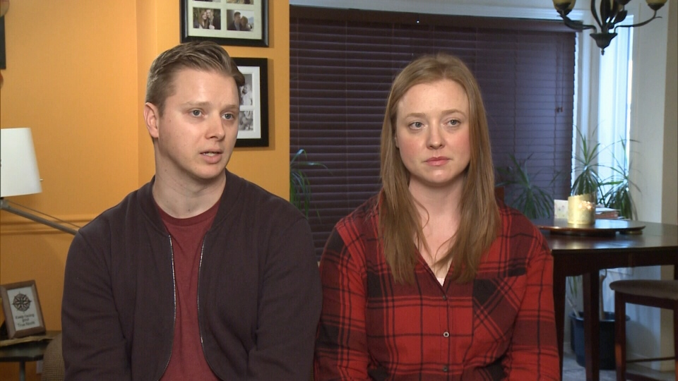 "Inspired by Bell's ""Let's Talk"" Day, Jeremy McGoran and his wife Mare McHale decided to share their mental health story. Jan. 27, 2016. (CTV News)."
