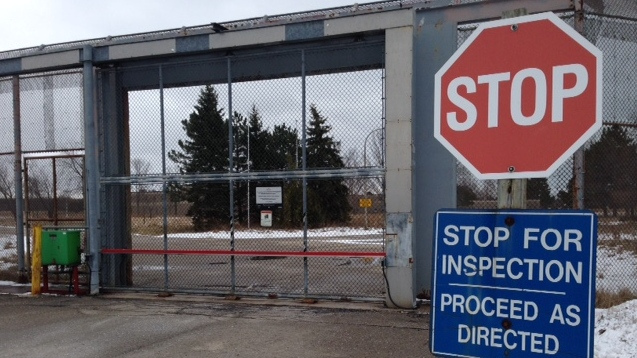 The Bluewater Detention Center near Goderich, Ont. on Wednesday, Jan. 27, 2016. (Scott Miller / CTV London)