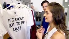 Wear Your Label mental health awareness