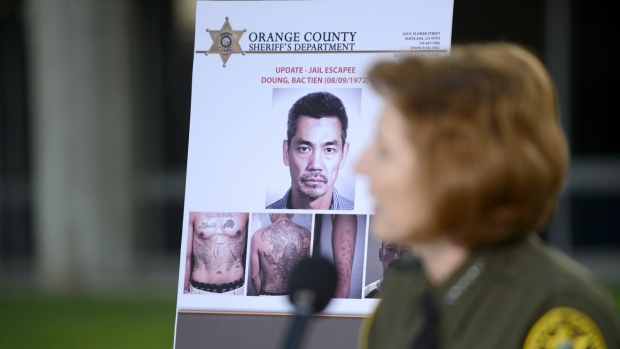 California sheriff says escaped prisoners had help