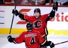 Calgary Flames' Dennis Wideman