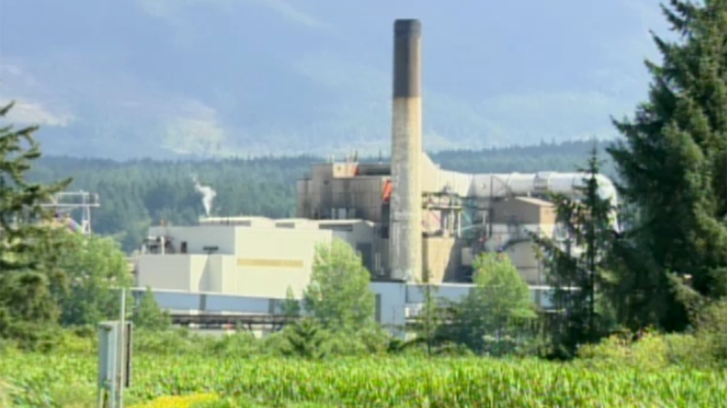 The Catalyst paper and pulp mill in Crofton, B.C. is shown in this undated file photo.