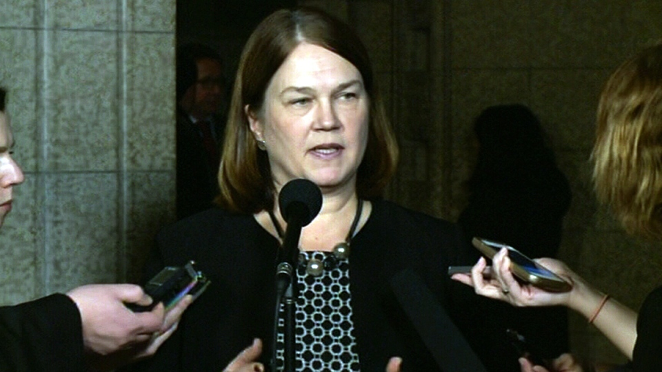 Health Minister Jane Philpott comments on the Zika virus on Parliament Hill in Ottawa, Thursday, Jan. 28, 2016.