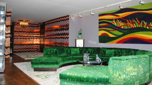 A true blast from the past, this 1972 condo in Chicago looks like it's been frozen in time. Much of the 1,877-square-foot suite is covered in bright patterned wallpaper, mirrors and a whole lot of velvet. The bathrooms are even lined with vintage perfume bottles.  With an estimated mortgage payment of just $600 per month, there may be money left in the budget for renovations – or perhaps just more brown and orange couches. (Zillow)