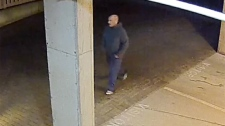 Police released surveillance footage of a man accused of sexually assaulting two women whose door he knocked on Wed., Jan. 27, 2016. (Courtesy Saanich Police)