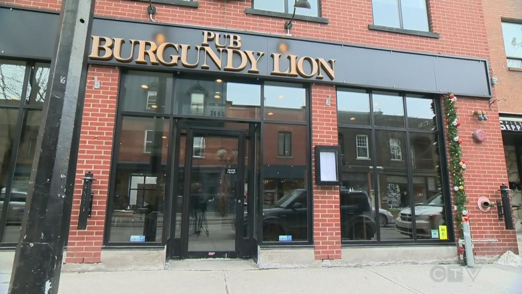 Burgundy Lion Pub
