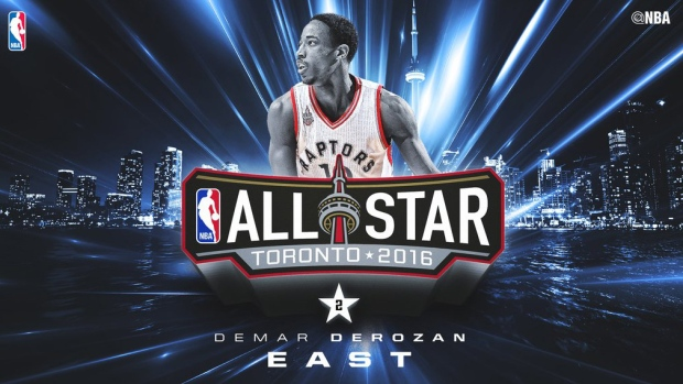 7cc861450 Raptors  DeMar DeRozan named Eastern Conference reserve in NBA all-star game