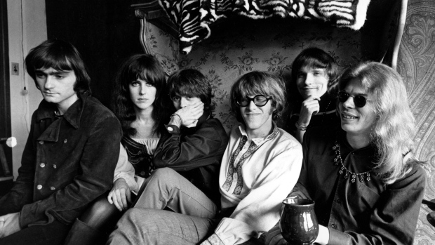 Jefferson Airplane poses in San Francisco