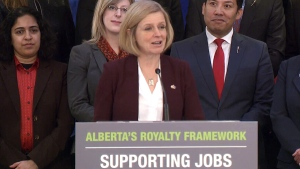 LIVE1: Alberta Premier Rachel Notley speaks