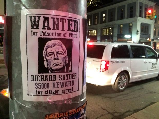 Rick Snyder poster