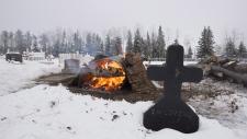 La Loche shooting victim grave site