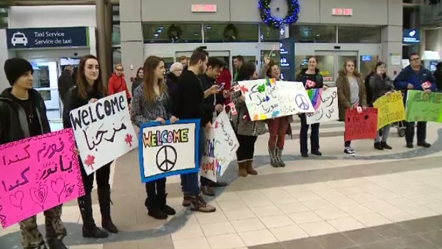 Syrian refugee welcome in Moncton