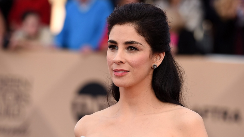 Sarah Silverman arrives at the 22nd annual Screen Actors Guild Awards at the Shrine Auditorium & Expo Hall on Saturday, Jan. 30, 2016, in Los Angeles. (Photo by Jordan Strauss / Invision / AP)