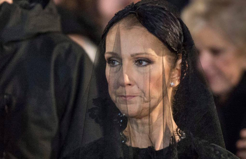 Celine Dion mourns her husband Rene Angelil